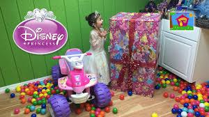 Kids Girls Dolls 4 Wheeler World U0027s Biggest Disney Princess Surprise Toys Box Opening Kids