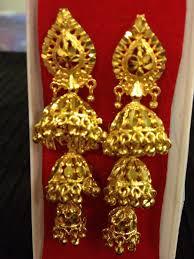 golden earrings indian jewelry golden earrings hdaccessories earrings