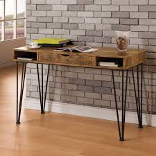 Modern Brick Wall by Furniture Mid Century Modern Desk With Brick Wall Design And