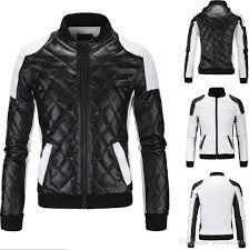 black motorcycle jacket mens 2017 2018 spring new fashion men u0027s jacket simple hit color pu