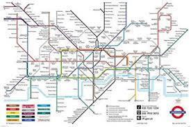 map underground map of the underground major tourist attractions maps