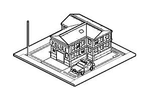 police station building coloring pages wecoloringpage