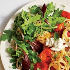 easy thanksgiving salads herb salad with sherry vinaigrette recipe myrecipes