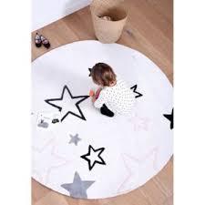 tapis rond chambre bébé lilipinso tapis etoiles rond chambre bebe par couleur