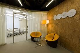 Contemporary Office Interior Design Ideas Yandex Internet Company Office By Za Bor Architects