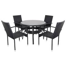Glass Top Patio Dining Table Wicker And Glass Top Patio Dining Table Glass Top Patio Dining