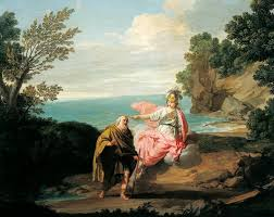 Blind Prophet In The Odyssey Odyssey U2013 Winds U0026 Waves