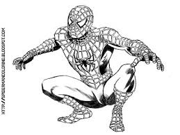 black spiderman colouring pages spiderman coloring pages 3286