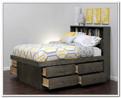 Storage Beds Queen Size With Drawers Bedding Good Looking Queen Bed With Storage Drawers