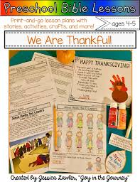 How To Say Happy Thanksgiving Preschool Bible Lessons We Are Thankful Free Craft Template