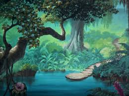 Jungle Backdrop Disney Crossover Images Empty Backdrop From The Jungle Book Hd