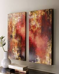 Horchow Home Decor Set Of Two Lava Lamp Paintings By Rosenbaum Fine Art At Horchow