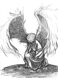 praying angel sketches pictures to pin on pinterest thepinsta