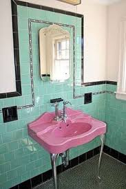 Vintage Bathroom Design Colors The Color Green In Kitchen And Bathroom Sinks Tubs And Toilets