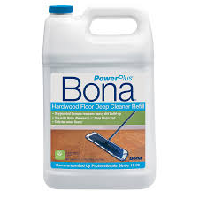 shop bona powerplus 128 oz hardwood floor cleaner at lowes com