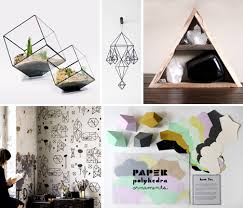 geometric home decor a different angle 15 great geometric home accessories urbanist