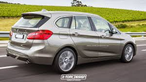 Bmw X5 7 Seater 2015 - bmw 2 series active tourer 7 seater rendered looks bigger