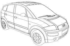 jeep audi audi a2b jeep car coloring page wecoloringpage