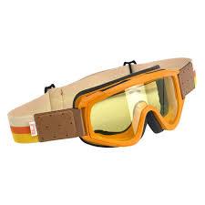 motocross goggles tinted biltwell overland goggles orange brown