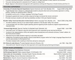 Spanish Teacher Resume Examples by Completely Free Resume Templates Absolutely Free Resume Builder