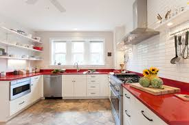 countertops that go with white cabinets go bold in connecticut white cabinets red countertops farmhouse