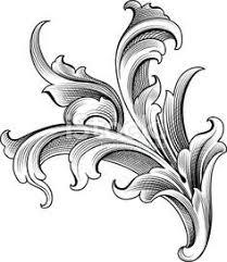 page corner engraving designs lightbox istock frames borders