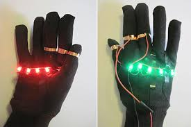 Light Up Gloves Led Traffic Glove Build A Safety Device To Direct Traffic