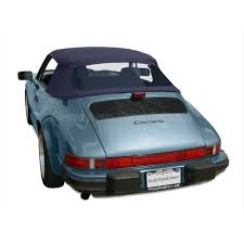 1994 porsche 911 turbo porsche 911 1983 1994 twillfast ii convertible top blue