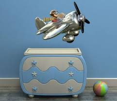chambre garcon avion sticker avion chambre garcon