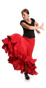 flamenco dance skirt triana k red u203a dresses u0026 skirts u203a la sonanta