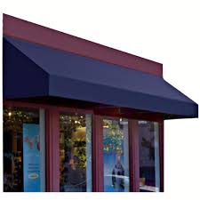 Window Awnings Home Depot Awntech 4 Ft New Yorker Window Entry Awning 44 In H X 48 In D