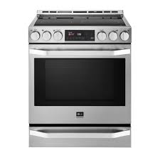 Small Cooktops Electric Whirlpool 30 In 4 8 Cu Ft Slide In Electric Range In Stainless