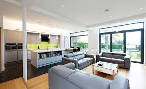 kitchen and living room design ideas open plan kitchen living room small home interiors space design
