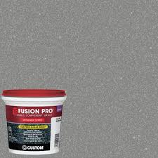 Home Depot Design Center Reviews by Custom Building Products Fusion Pro 553 Glitter 1 Qt Designer