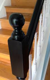 How To Refinish A Wood Banister How To Update Railings And Spindles On Stairs