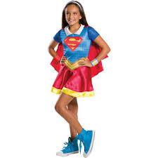 Halloween Costumes Kids Girls Dc Comics Dc Superhero Girls Halloween Costume Kids U0027 Supergirl