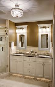 Recessed Vanity Lighting Recessed Medicine Cabinet With Lights Bathroom Traditional With