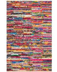 Rag Area Rug Find The Best Deals On Braided Cotton Pinstripes Rag Area Rug