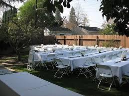 Backyard Wedding Decorations Ideas Nice Backyard Reception Ideas How To Decorate A Backyard Wedding