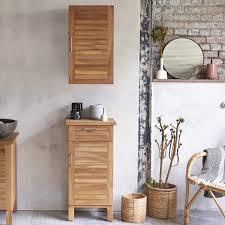 Two Vanities In Bathroom by Solid Acacia Wood Bathroom Cabinet Tower Storage 2 Drawers Vanity
