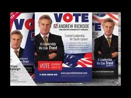 election campaign flyer or poster templates youtube