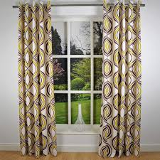 enhance your indoor or outdoor house beauty with retro curtains