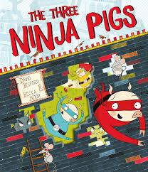ninja pigs book david bedford becka moor