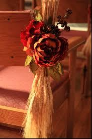 amazing for church pew wedding decoration brilliant
