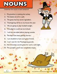 thanksgiving nouns 2