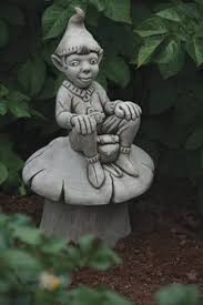 borderstone rucksack pixie garden ornament garden ornaments