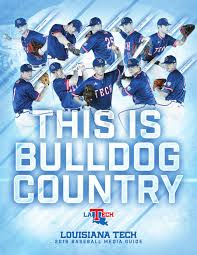 2016 louisiana tech baseball media guide by louisiana tech