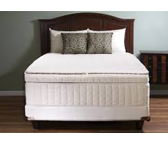 naturepedic symphony luxury organic pillowtop mattress