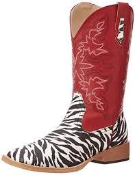 womens zebra boots amazon com roper s zebra glitter boot mid calf