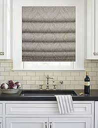 Roman Shade With Curtains Roman Shades Blindster Com